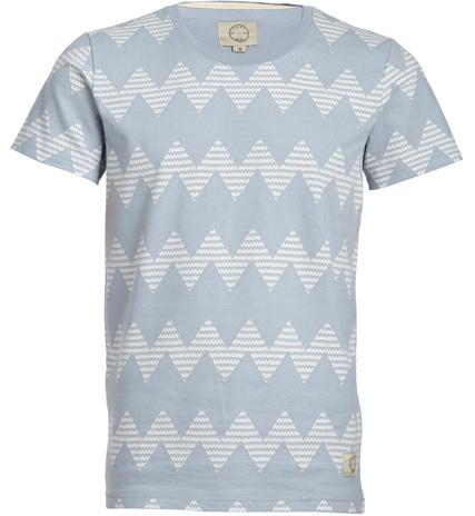50% de réduction sur tous articles soldés - Ex : T-shirt Homme Bleu ciel