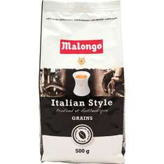 Café Malongo en grains 500gr  (70% sur la carte)