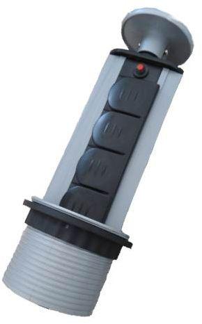 Bloc Multiprise escamotable Otio - 4 prises
