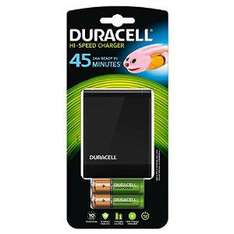 Chargeur rapide Duracell 45 minutes + 2 piles AA et 2 piles AAA