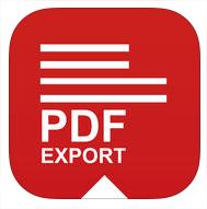 PDF Exporter Pro gratuit sur iOS (au lieu de 2,99€)