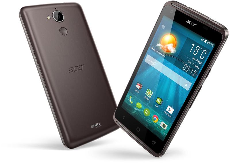 """Smartphone 4.5"""" Acer Liquid Z410 4G + coque Liquid Skin - Noir (via ODR 30€)"""
