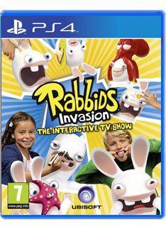 jeu Les Lapins Crétins Invasion : La Série Télé Interactive sur PS4