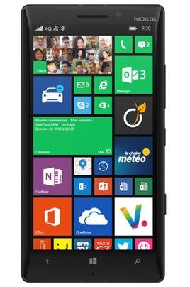 "Smartphone 5"" Nokia Lumia 930 - noir (retrait en magasin)"