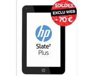 "Tablette 7"" HP Slate 7 Plus 8 Go"