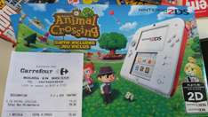 Console Nintendo 2DS Animal Crossing New Leaf - Rouge/Blanche