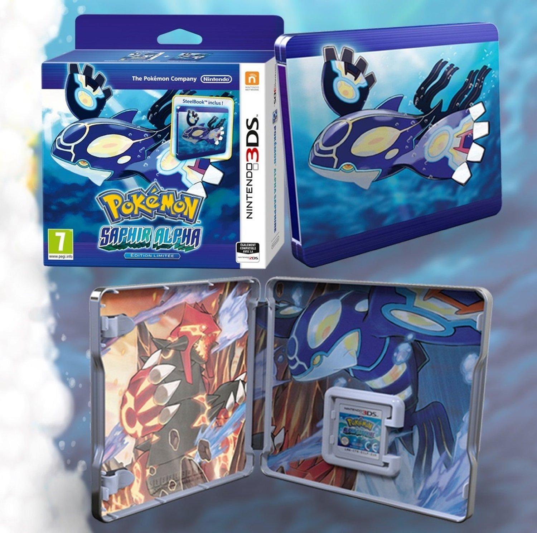 Jeu Pokemon Alpha Saphir édition limitée sur 3DS