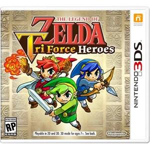 Précommande jeu 3DS the Legend of Zelda Triforce Heroes