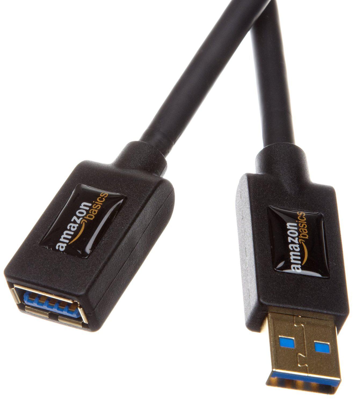 [Membres Premium] Rallonge Câble AmazonBasics USB 3.0 mâle A vers femelle A 3 m