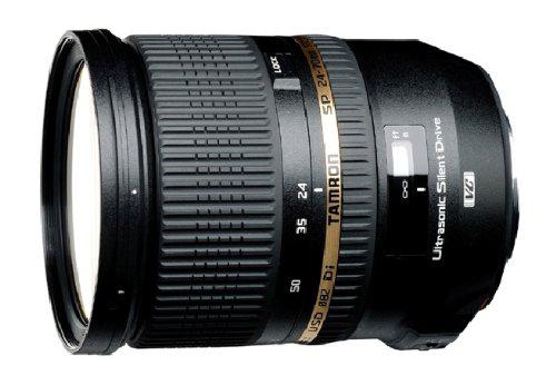 Objectif Tamron SP 24-70mm f/2,8 Di VC USD monture canon