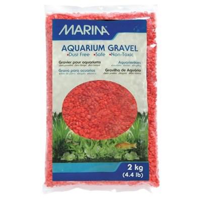 Gravier orange 2 Kg pour aquarium