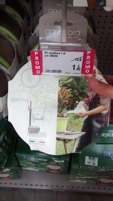 Kit de réserve d'eau Aquaflora mini - 1.4l - pots 35-50cm