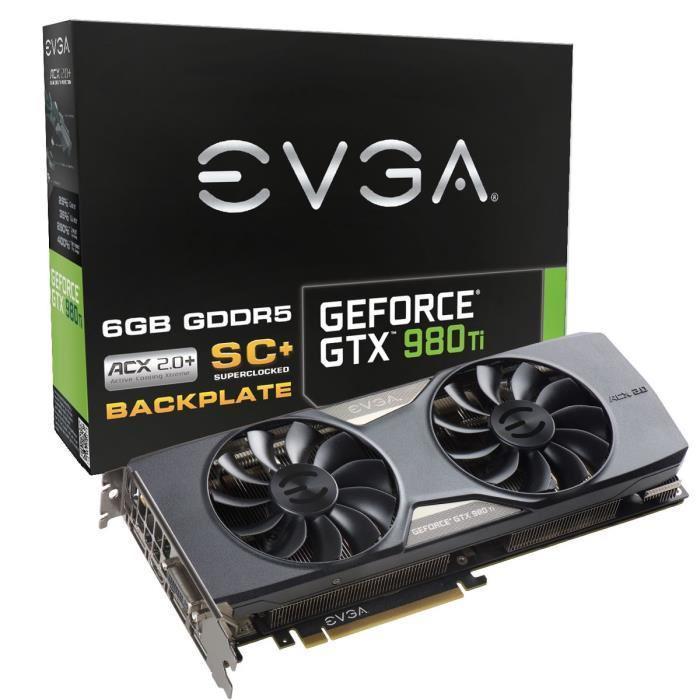 Carte graphique EVGA GeForce GTX 980 Ti SC+ ACX 2.0+