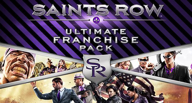 Saints Row Ultimate Franchise Pack sur PC (Dématérialisé - Steam)
