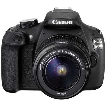 Reflex Canon EOS 1200D + 18-55 III DC (avec ODR 30€)