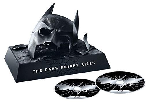 Coffret Blu-ray Batman The Dark Knight Rises Ultimate Collector [Import italien]