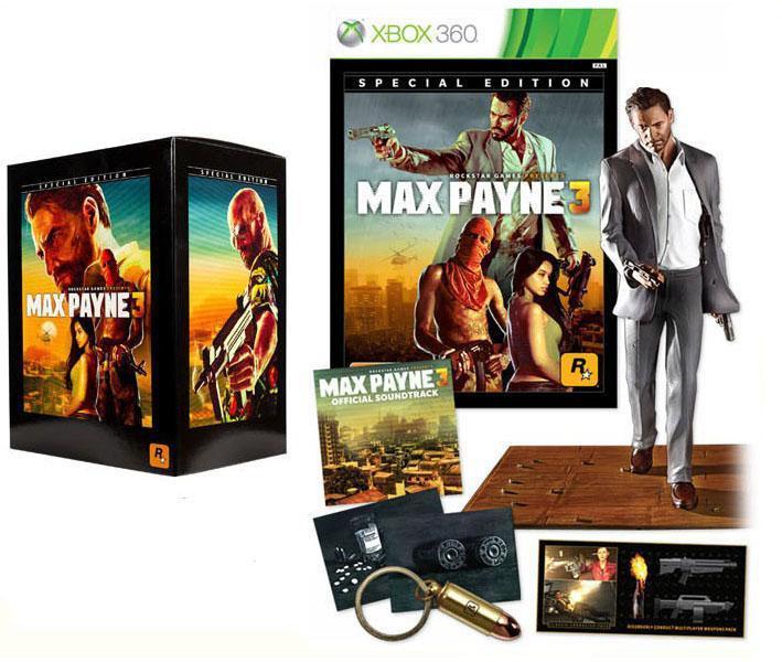 Max Payne 3 : Edition Spéciale sur Xbox 360