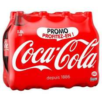 Sélection de produits 100% remboursés en cagnotte Olé - Ex : Pack de Coca-cola 8x 1.5L Classic ou Zéro