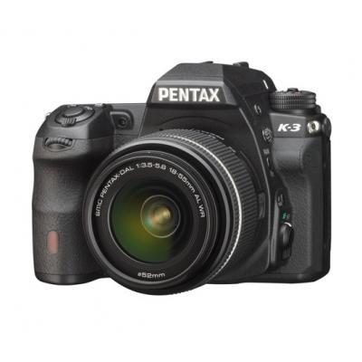 Appareil photo Reflex Pentax K-3 - 24 Mpix Kit Objectif 2.4-35 mm - Noir (via ODR de 100€)