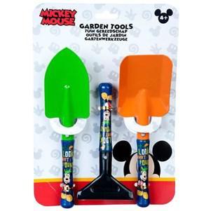 Set de 3 outils Mickey - Rateau, Pelle et Transplantoir