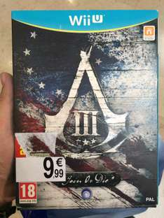Assassin's Creed III Join Or Die Edition sur Wii U