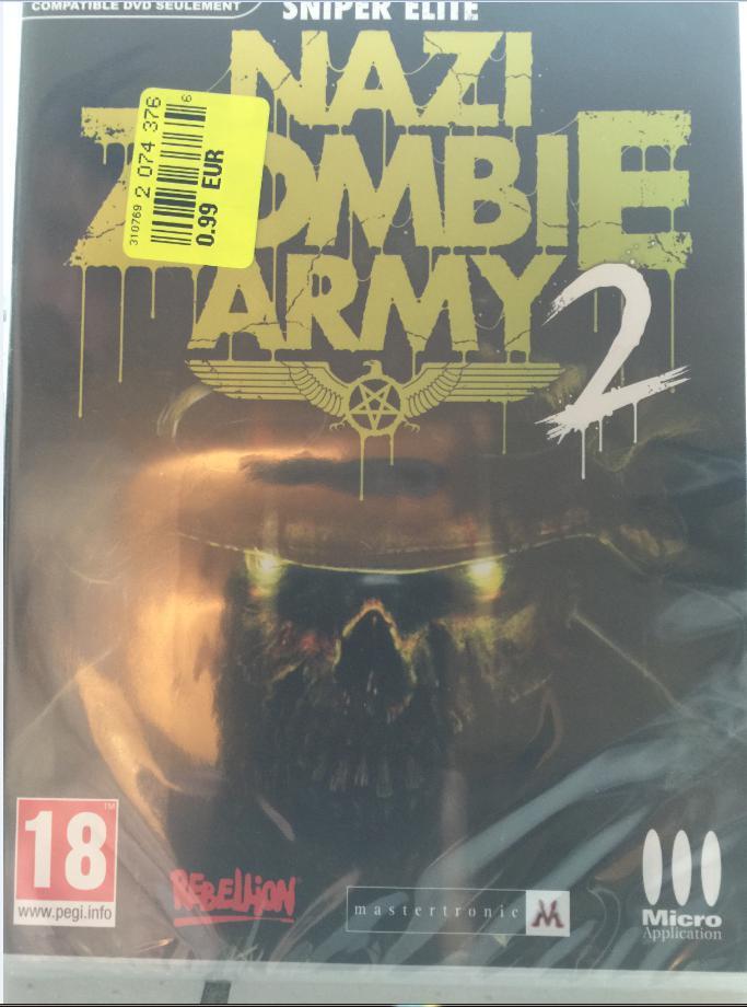 Jeu Sniper Elite: Nazi Zombie Army 2 sur PC