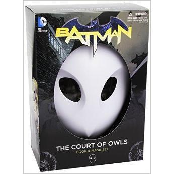 """Coffret Batman - comics """"La Cour des Hiboux"""" (The Court of Owls) + masque"""
