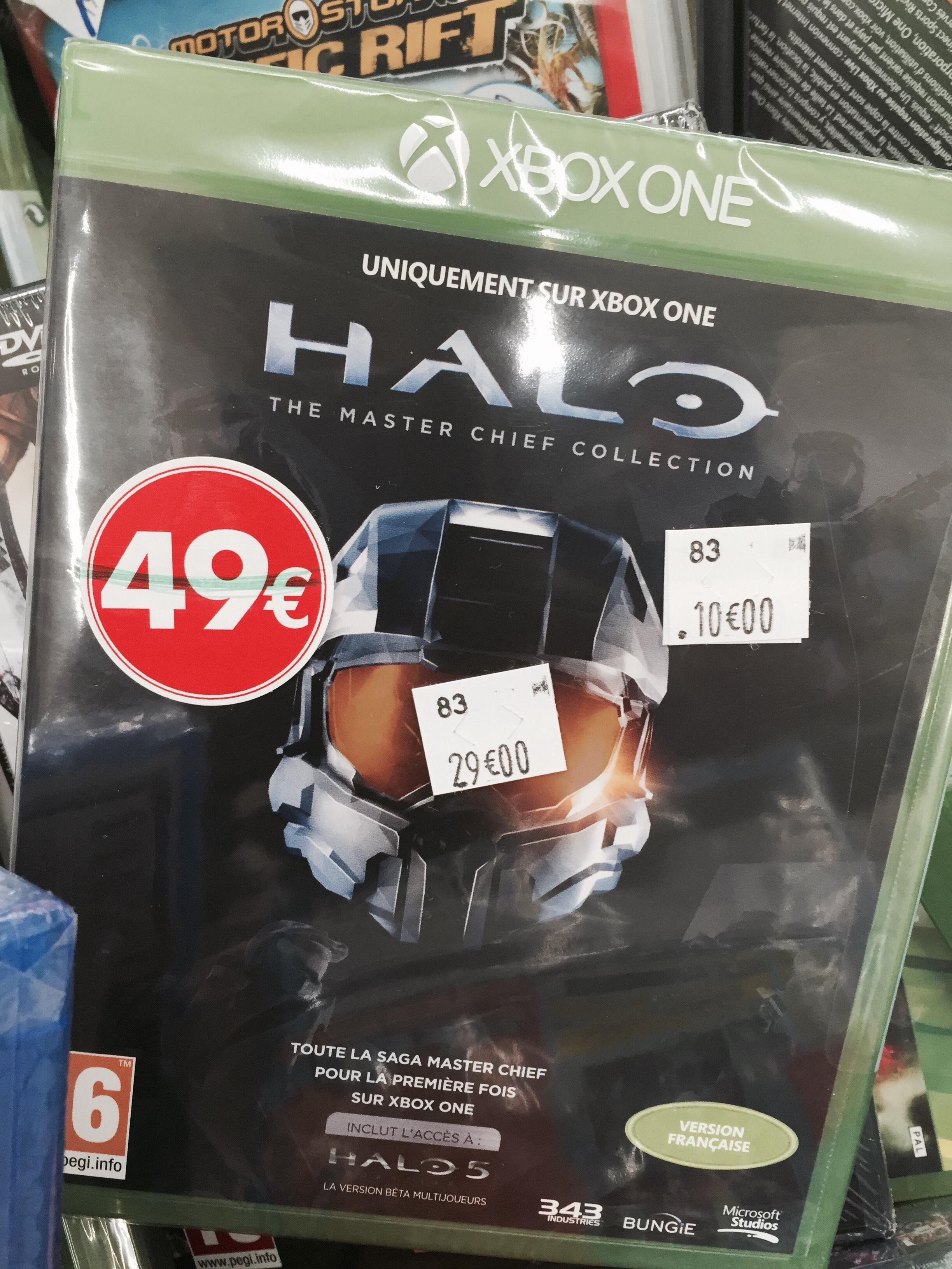 Sélection de jeux à 10€ - Ex : Halo Master Chief collection sur Xbox One