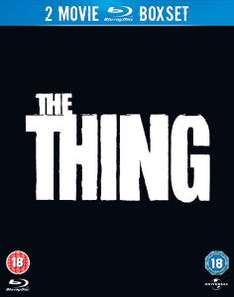 Double coffret Blu-ray The Thing 1982 et 2011