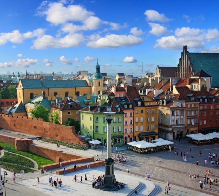 Sélection de vols A/R en Europe en vente flash - Ex : Paris - Varsovie en octobre
