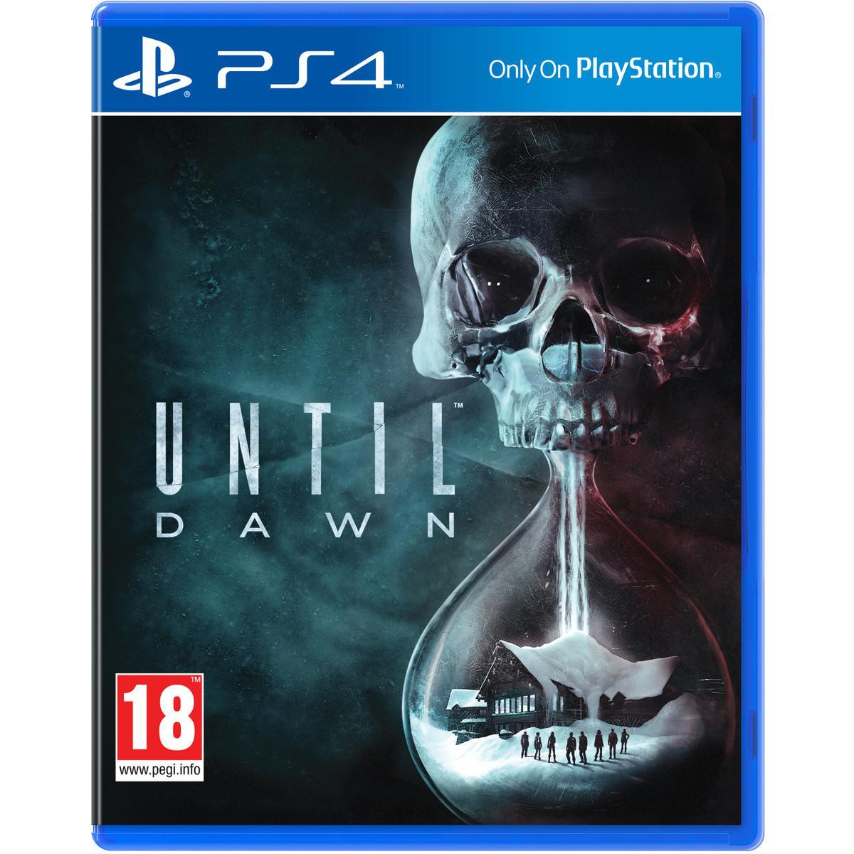 Pré-commande : Until Dawn sur PS4
