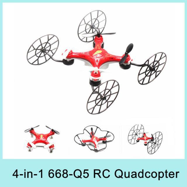 Drone 4 en 1   668-Q5 RC  2.4GHz