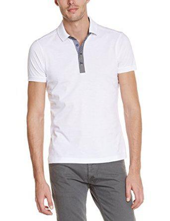 T-shirt  homme Best Mountain TCE15177H - Uni - Manches courtes - Blanc - L