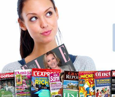 15€ de réduction sur l'abonnement d'un magazine sans minimum