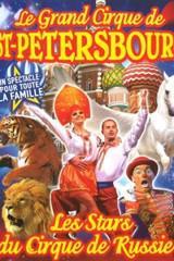 Sélection de spectacles et Cirques en promo - Ex : Le grand cirque de saint-petersbourg (Bretagne)