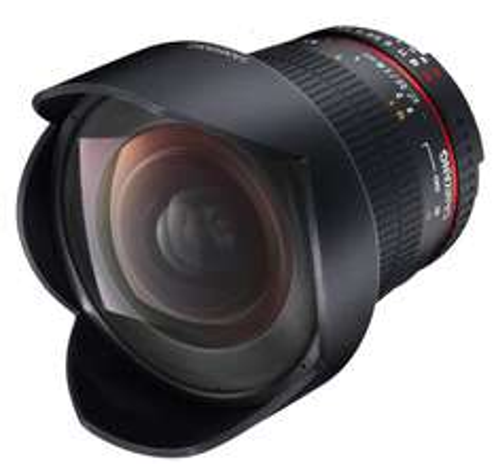 objectif photo Samyang 14 mm f/2.8 IF ED UMC Aspherical monture Samsung NX