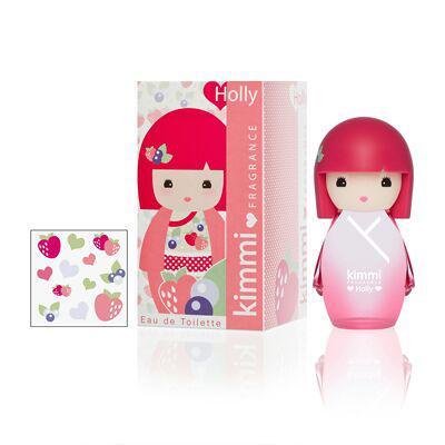 Eau De Toilette Spray Kimmi Holly 50ml & Stickers