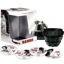 Intégrale Rambo. Coffret collector Grenade. (Rambo et Rambo 3 seulement en anglais)