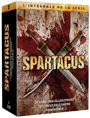 Coffret DVD: Spartacus - Le sang des Gladiateurs + Les dieux de l'arène + Vengeance