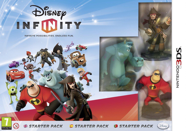 Figurines Disney infinity Martin et Francesco Bernoulli à 1.94€ ou Pack Démarrage Disney Infinity sur 3DS