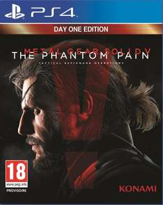 Précommande Metal Gear Solid V : The Phantom Pain PS4 Ou Xbox one Day One Édition