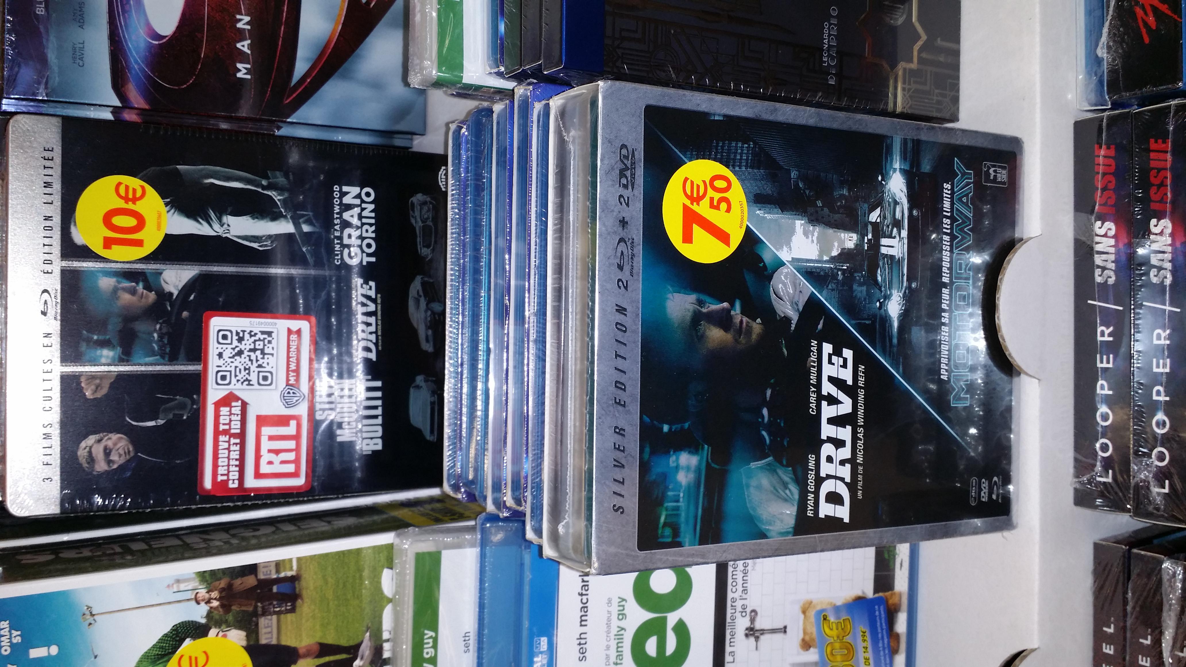 Bundle Blu-ray Steelbook Drive + Motorway