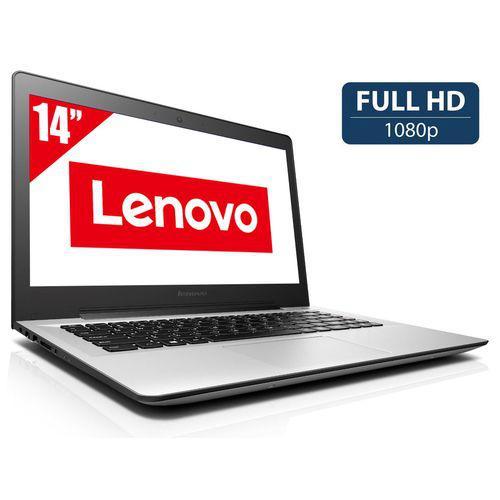 "PC portable 14"" Lenovo U41-70 (i5-5200U, Full HD, RAM 4 Go, SSD 256 Go)"