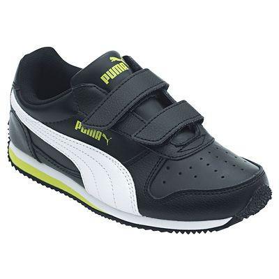 Chaussures bébé Puma Fieldsprint noir