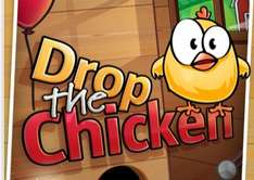 "Jeu gratuit ""Drop the chicken"" sur iOS"