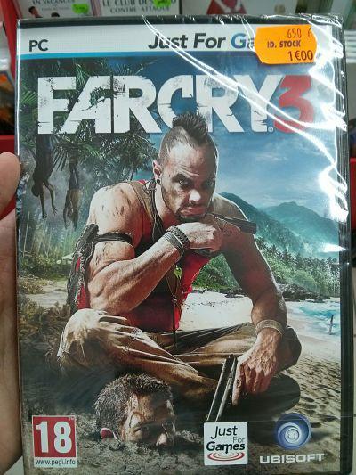 Sélection de jeux vidéo PC (Facry, GTA IV...)