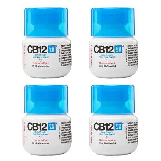 4 Flacons CB12 - Actif pour une haleine sûre pendant 12heures