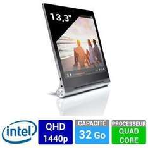 "Tablette 13.3"" Lenovo Yoga Tablet 2 Pro - WiFi Gris métal (via ODR 100€ + code 10%)"
