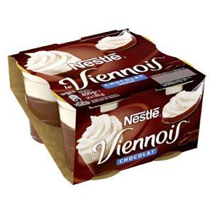 Lot de 3 x 4 pots Viennois Nestlé (Via BDR)