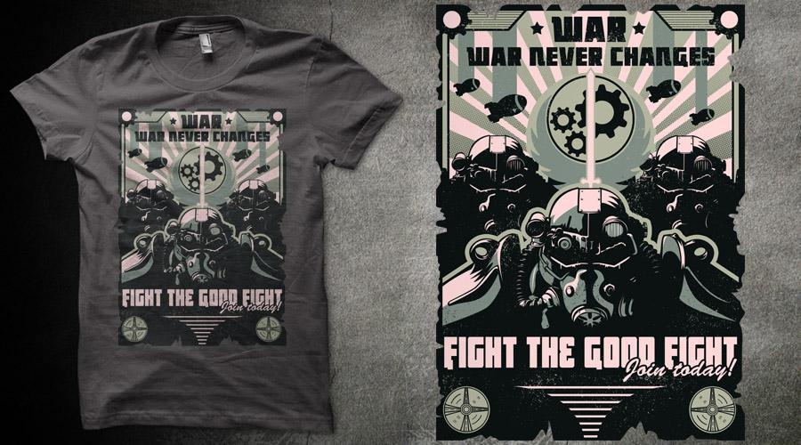 Qwertee Insanity Sale: -50% sur une sélection d'articles - Ex: T-shirt motif aléatoire